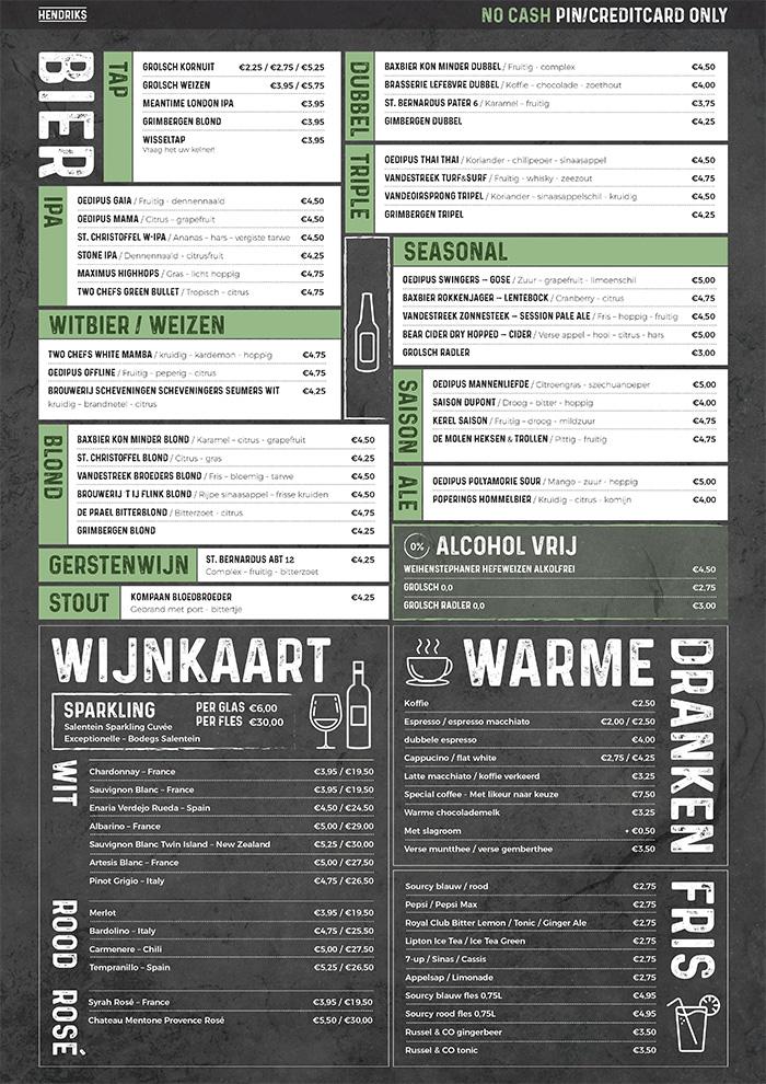 Restaurant-Hendriks-Menukaart-Drinks-Grafisch-Interaction-Design-Koenkist.com